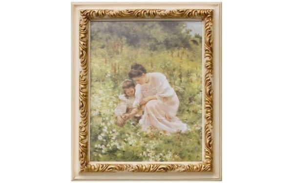 quadro donna con bimba
