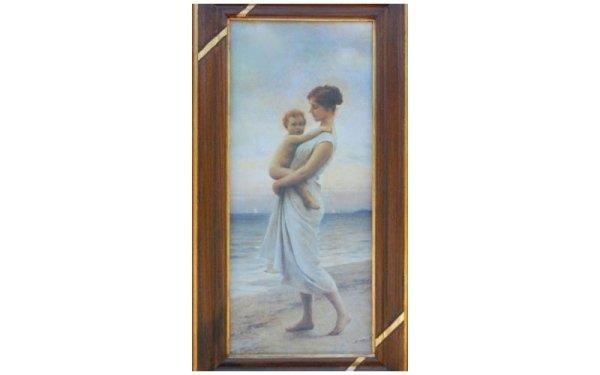 quadro donna con bambino