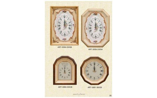orologi con cornici decorate