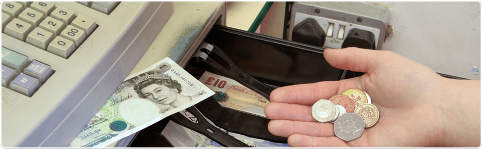 To inquire about cash registers, call Merseyside Cash Registers on 0151 226 4258