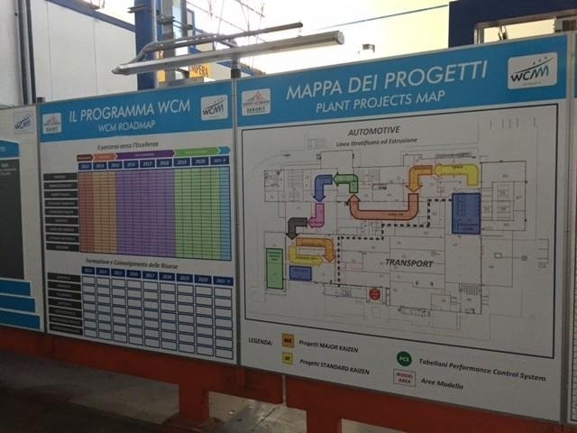 segnaletica interna per Mappa Di Progetti