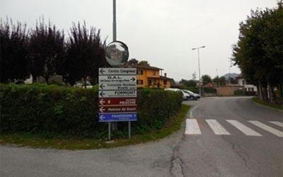 frecce segnaletiche stradale