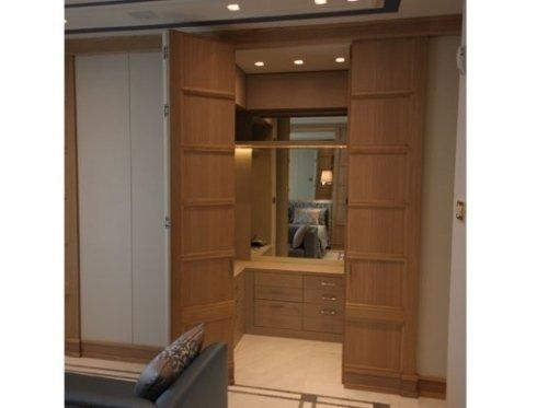 cabina armadio legno