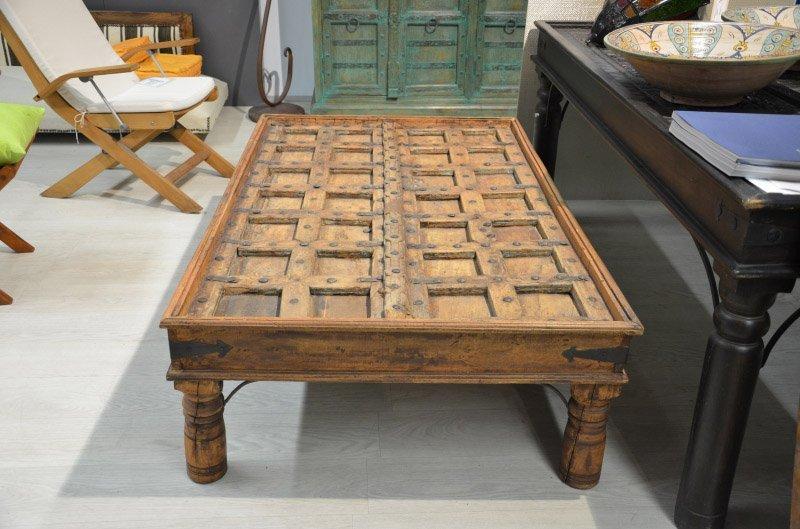 tavolino basso in legno