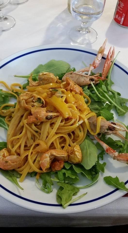 spaghetti gamberi La Maddalena