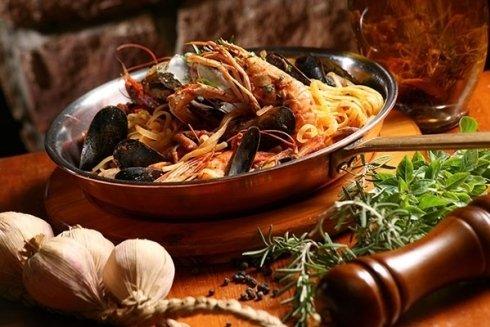 Primi con crostacei e molluschi La Maddalena