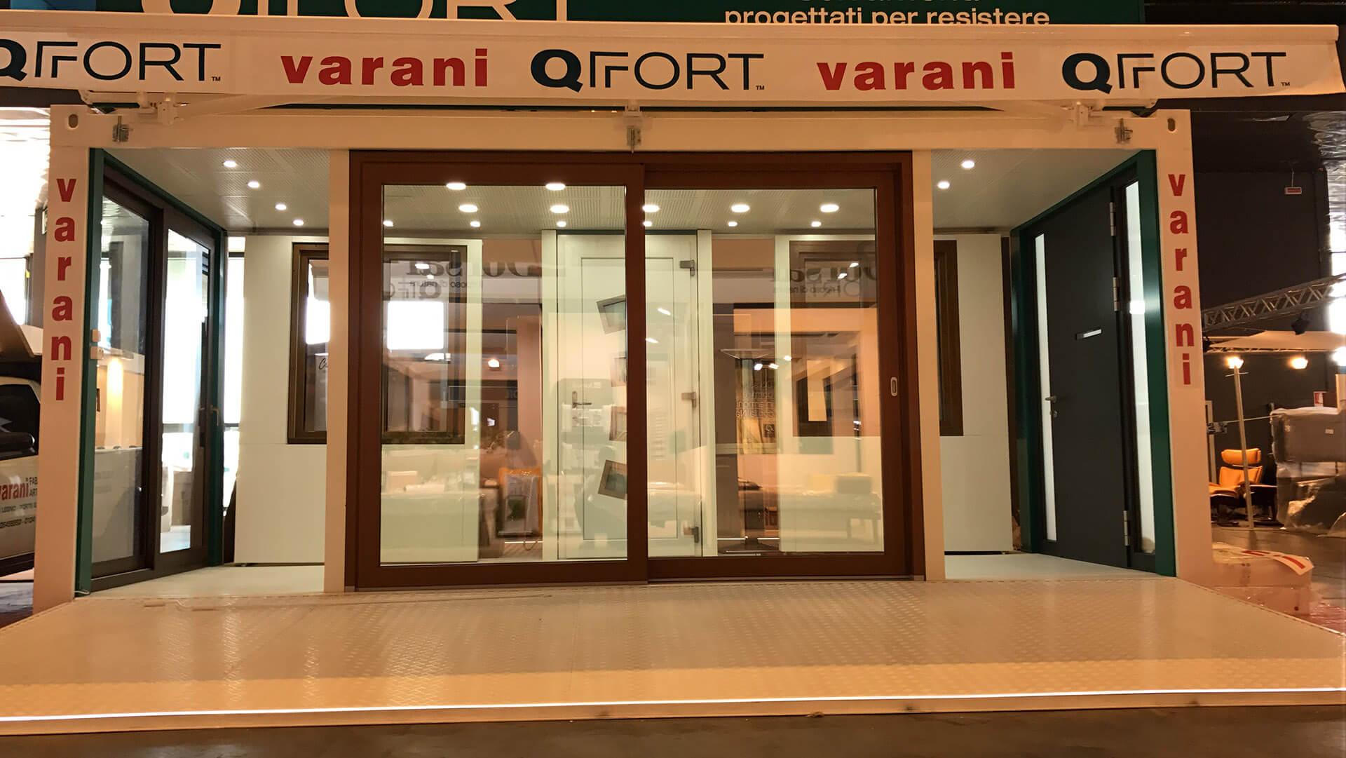 ingresso showroom Varani