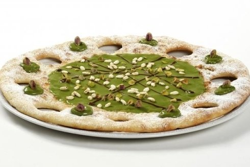 preparazione pizze dessert