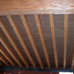 tetto in lamellare, tavelle in cotto, tetti in legno