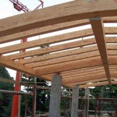 tetto in legno, travi in legno, legname