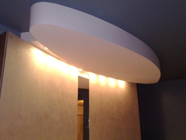 Hotel Sheraton Padova-Suites soffitto luci