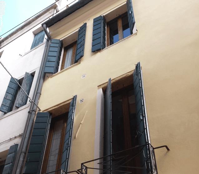 Facciata Centro Storico Padova basso