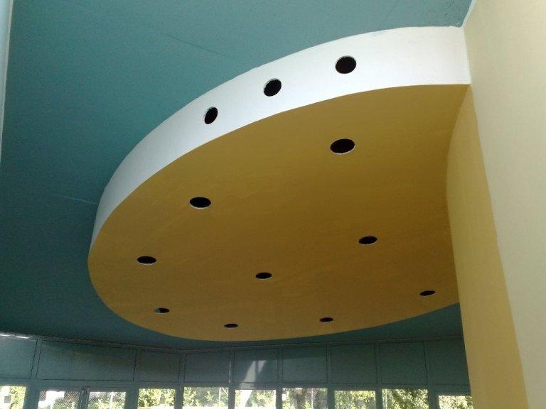 Asilo Arcugnano Vicenza soffitto