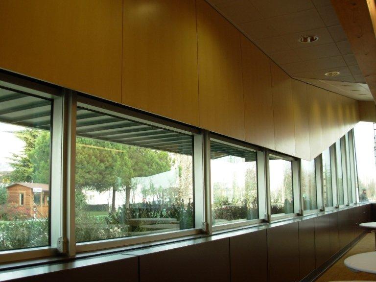 Hotel Sheraton Padova-Sala Congressi finestre