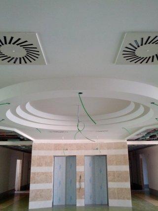 OIC Via Nazareth Padova soffitto