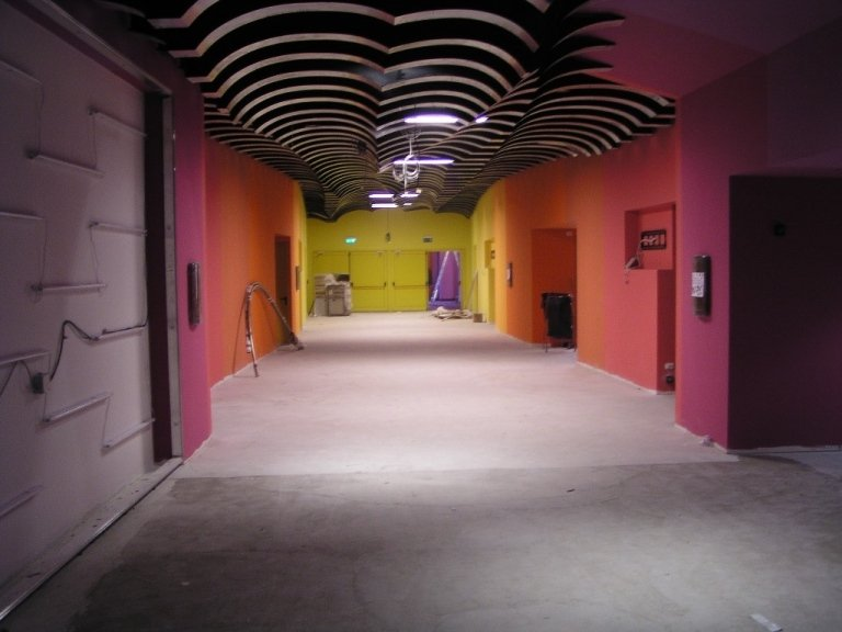 Cinecity Parma lavori