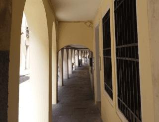 Facciata Centro Storico Padova portici