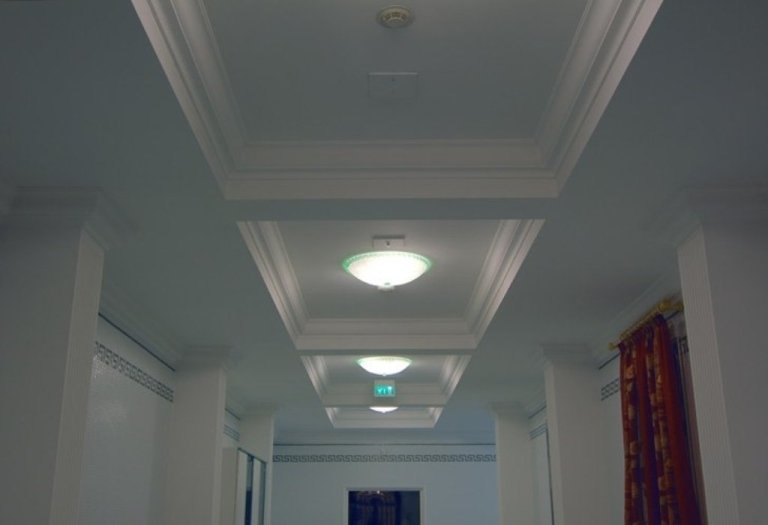 Hotel Trieste Abano Terme corridoio