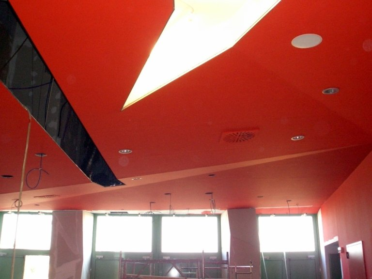 Cinecity Padova soffitto