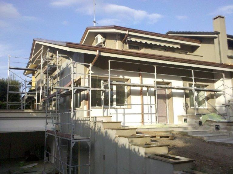 Tinteggiatura estrna abitazione Montegrotto esterno