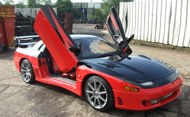 fully customised car