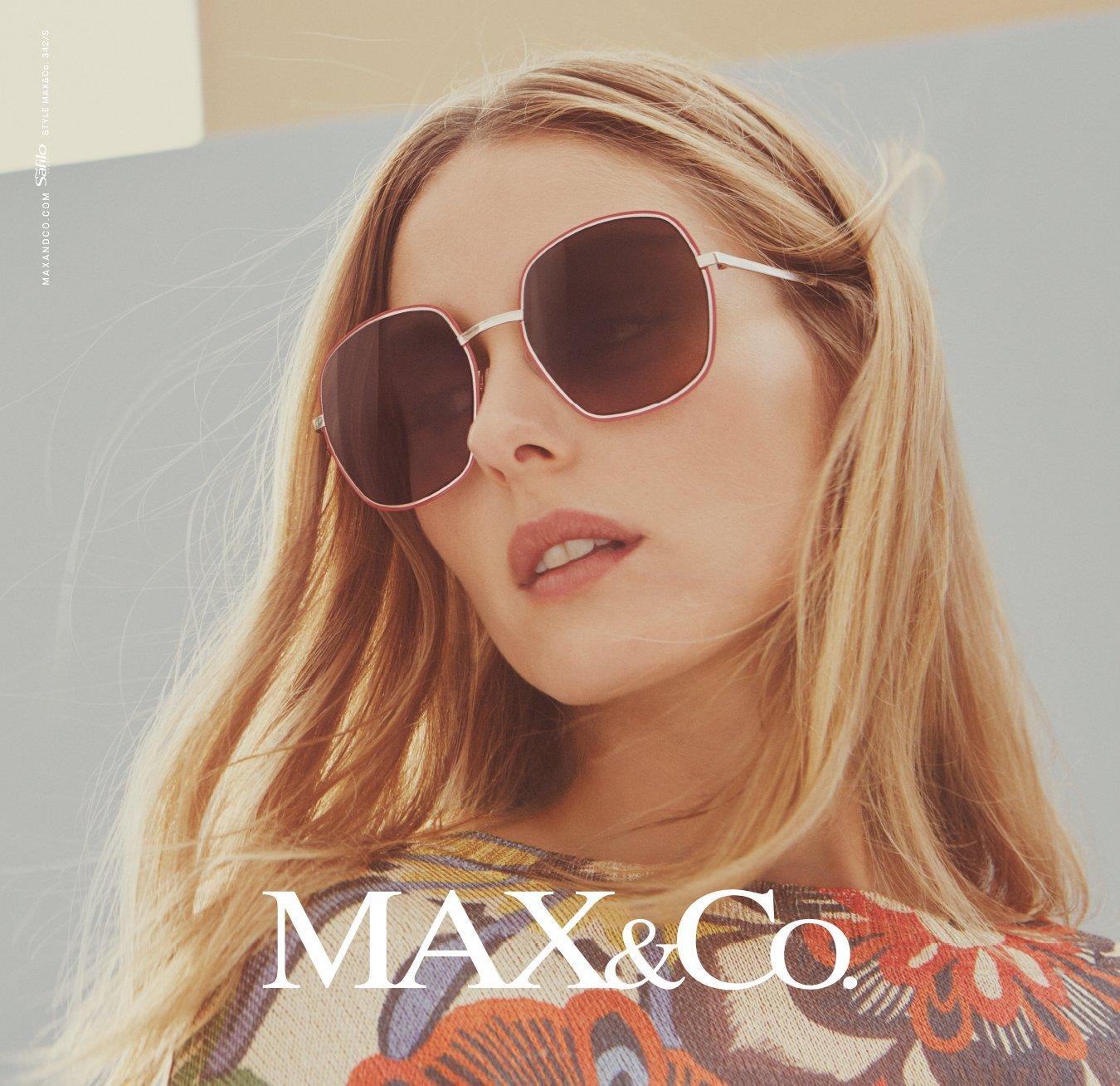 Modella con occhiali da sole Max&Co.