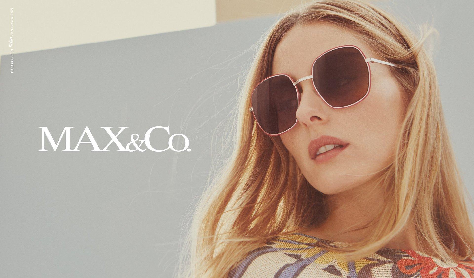 Modella per occhiali da sole Max&Co.