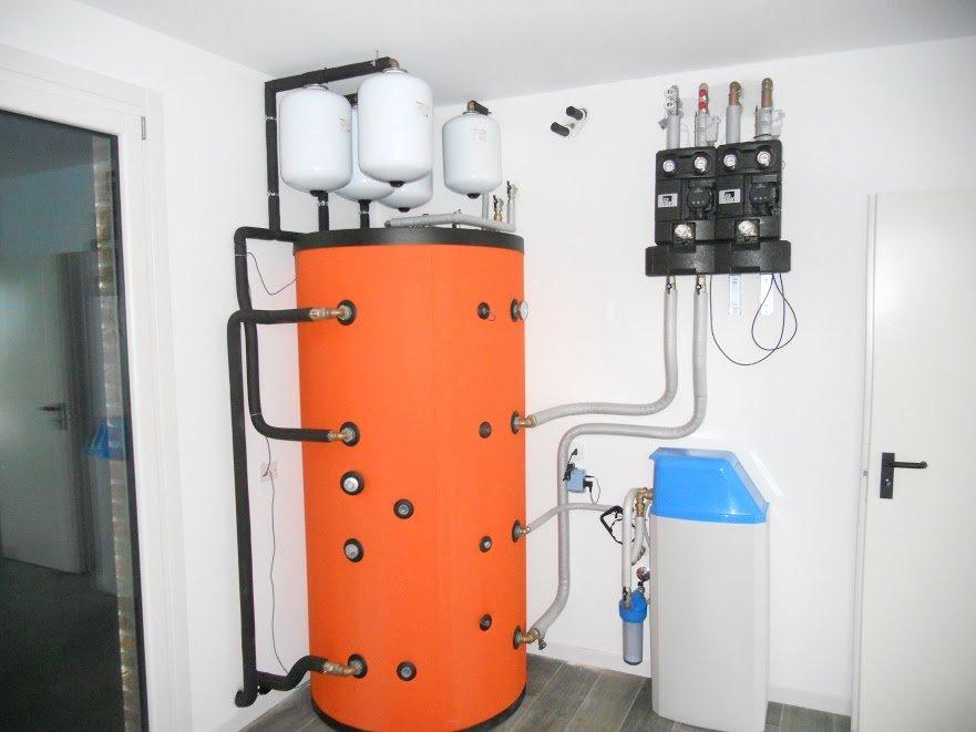 accumulo termico per biomassa