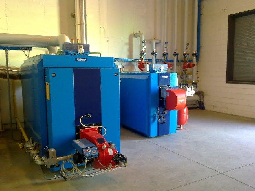 centrale termica industriale
