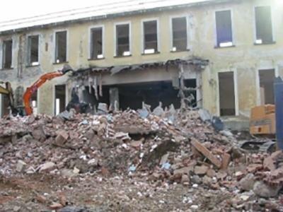 demolizione edifici