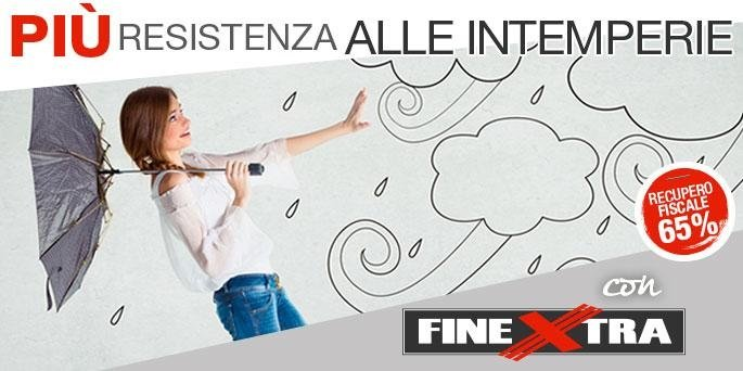 resistenza alle intemperie infissi