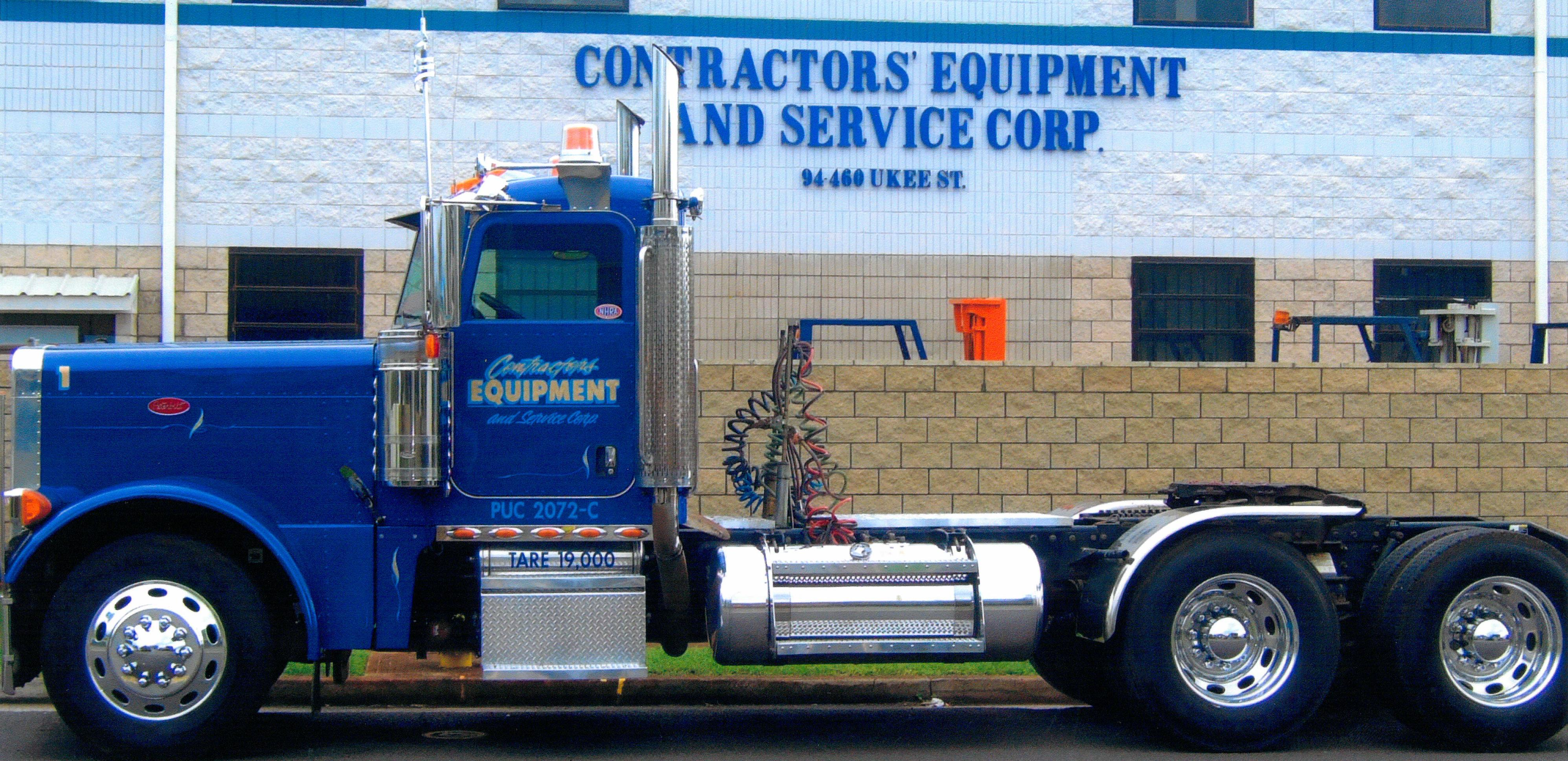 Semi trailer truck & heavy equipment rentals in Honolulu, HI