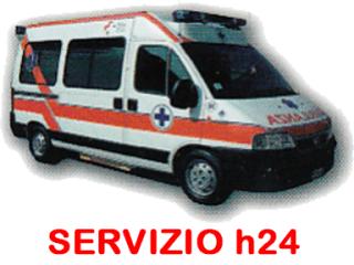 Ambulanza servizio h24