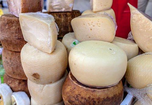 Scelga il formaggio che preferisca