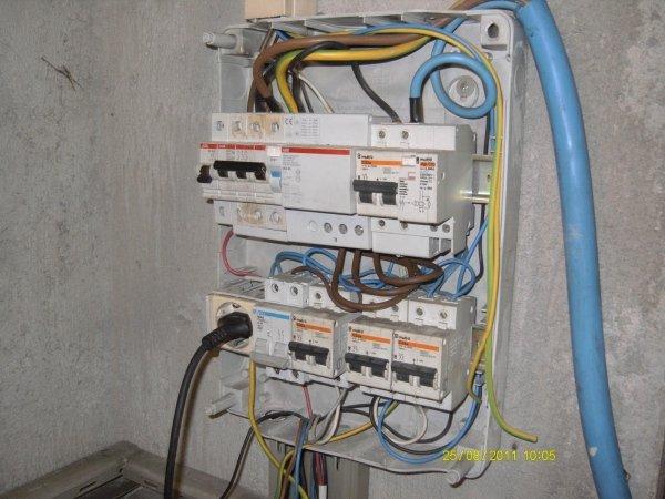 Interruttori quadro elettrico