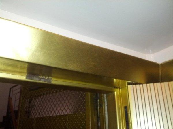 Impianto luci ascensore