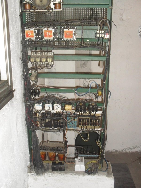 Vecchi quadri elettrici