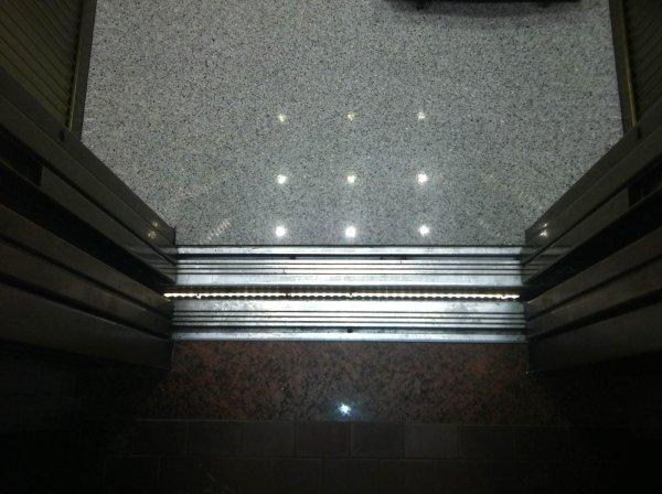 Illuminazione ascensore