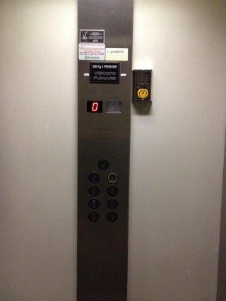 Pulsantiera impianto ascensore