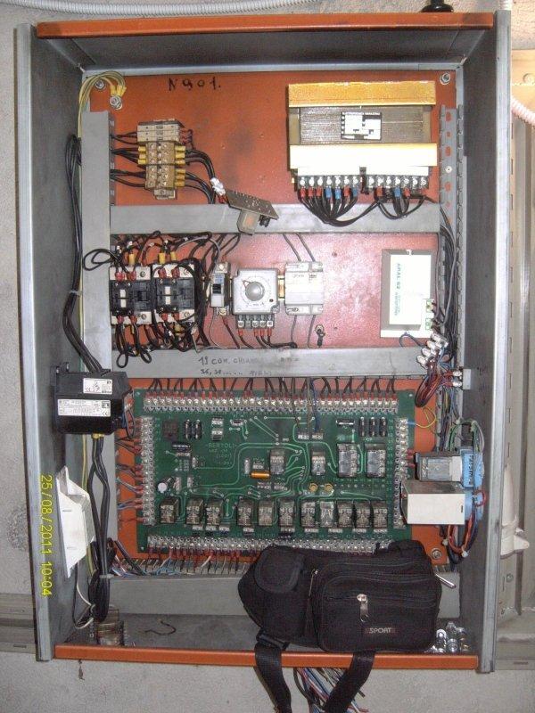 Impianto elettrico elevatore