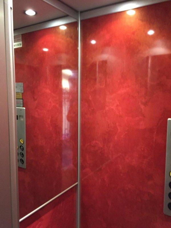 Specchio ascensore