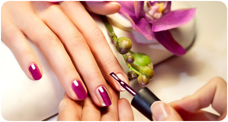 Relaxing manicures