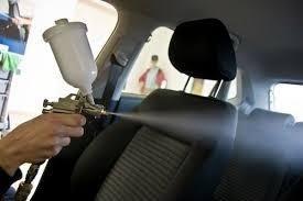 igienizzazione interni d'auto