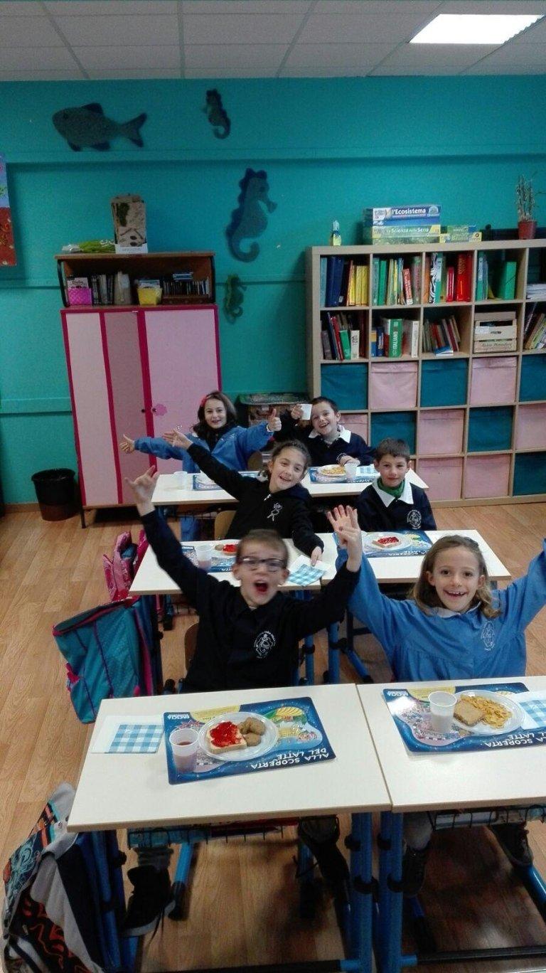 Colazione in classe