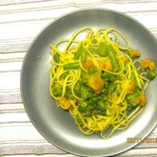 Pasta asparagi e mazzancolle