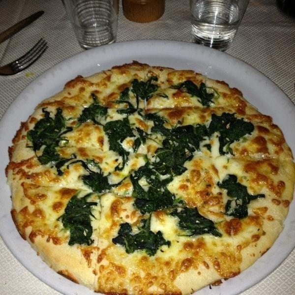 pizza al tegamino bianca