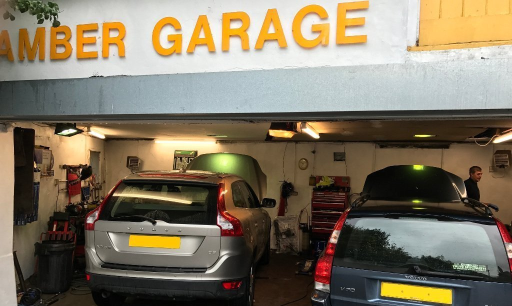 Volvo garage centre