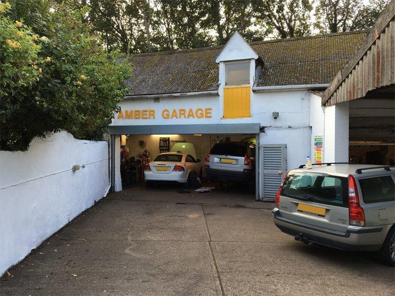 Amber Garage