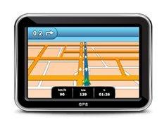 GPS die gebruikt wordt bij rijlessen