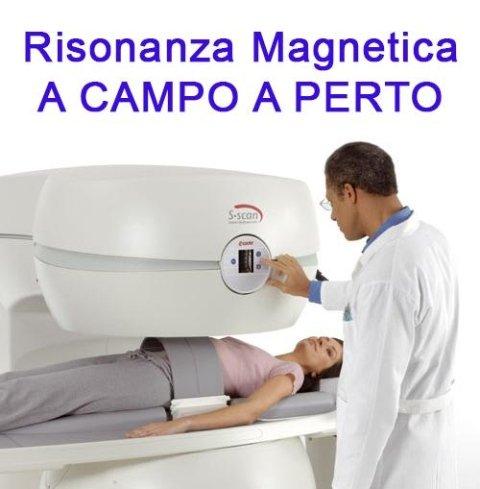 Risonanza Magnetica A CAMPO A PERTO